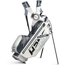 Sun Mountain H2NO Lite 14-Way Stand Bag - White-Gunmetal