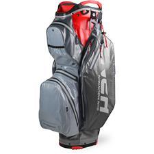 Sun Mountain H2NO Staff Cart Bag - Nickel-Gunmetal-Red