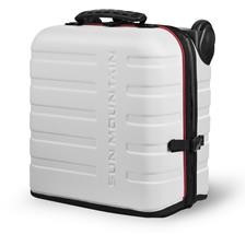 Sun Mountain Kube Travel Cover Bag - White-Black-Red