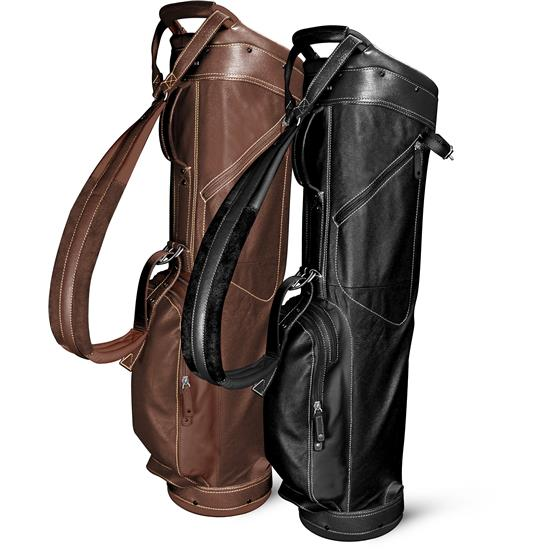 Sun Mountain Leather Sunday Bag