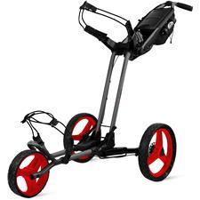 Sun Mountain Pathfinder 3 Push Cart - Magnetic Gray-Red