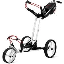 Sun Mountain Pathfinder 3 Push Cart - White