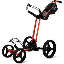 Sun Mountain Pathfinder 4 Push Cart - Inferno-Black