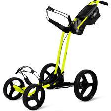 Sun Mountain Pathfinder 4 Push Cart - Atomic Yellow