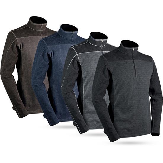 Sun Mountain Men's Pryor Long Sleeve Thermal Pullover