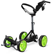 Sun Mountain RC1 Electronic Push Cart - Gunmetal-Flash