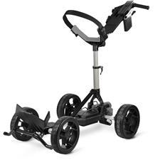 Sun Mountain RC1 Electronic Push Cart - Silver-Black