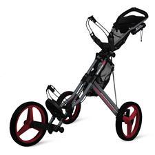 Sun Mountain Speed Cart GX Push Cart - Magnetic Gray-Red