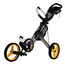 Sun Mountain Speed Cart GX Push Cart - Steel-Yellow