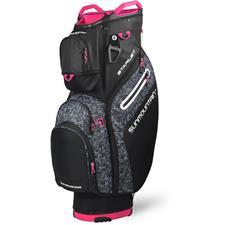 Sun Mountain Starlet Cart Bag for Women - Black-Knit-Pink