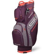Sun Mountain Starlet Cart Bag for Women - Plum-Plum Heather-Coral