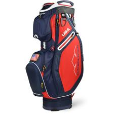 Sun Mountain Sync Cart Bag - Navy-Red-White