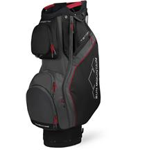Sun Mountain Teton Cart Bag - Black-Gunmetal-Red