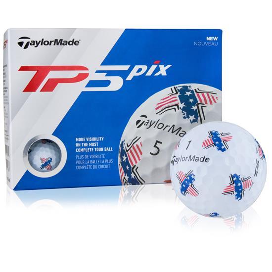 Taylor Made TP5 PIX USA Golf Balls