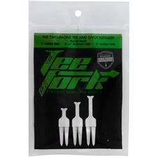 Tee Fork Two-In-One Tee and Divot Repair Mixed Pack