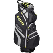 Tour Edge Hot Launch 4 Series Cart Bag for Women - Silver-Lime