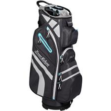 Tour Edge Hot Launch 4 Series Cart Bag for Women - Silver-Blue