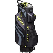 Tour Edge Hot Launch 4 Series Cart Bag - Black-Lime