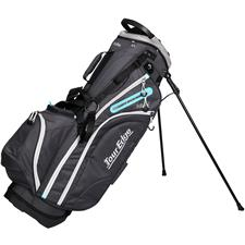 Tour Edge Hot Launch 4 Series Stand Bag for Women - Silver-Blue