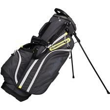 Tour Edge Hot Launch 4 Series Stand Bag for Women - Silver-Lime