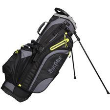 Tour Edge Hot Launch 4 Series Stand Bag - Black-Lime