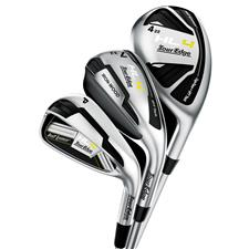 Tour Edge Left Hot Launch 4 Triple Combo Graphite Iron Set