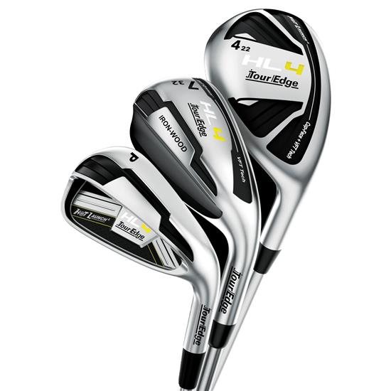 Tour Edge Hot Launch 4 Triple Combo Graphite Iron Set