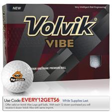 Volvik Vibe Custom Logo Golf Balls