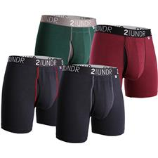 2UNDR Men's Swing Shift Boxer Brief