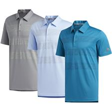 Adidas Men's 3-Stripe Print Polo