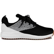 Adidas Core Black-Dark Silver Metallic-White Adicross Bounce 2 Golf Shoes