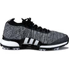 Adidas Core Black-White-Silver Metallic Tour360 XT Primeknit Golf Shoes