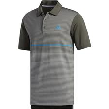 Adidas Legend Earth-Grey Three Ultimate Color Block Merchandising Polo