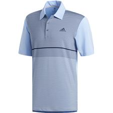 Adidas Glow Blue-Tech Ink Ultimate Color Block Merchandising Polo
