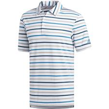 Adidas White-Active Teal Ultimate Line Polo