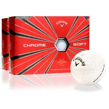 Callaway Golf Chrome Soft Golf Balls - 2 Dozen