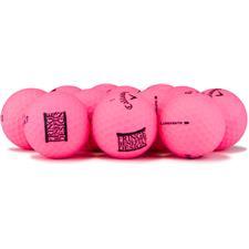 Callaway Golf Logo Overrun Supersoft Matte Pink Golf Balls