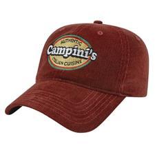 Custom Logo Custom Logo Corduroy Cap