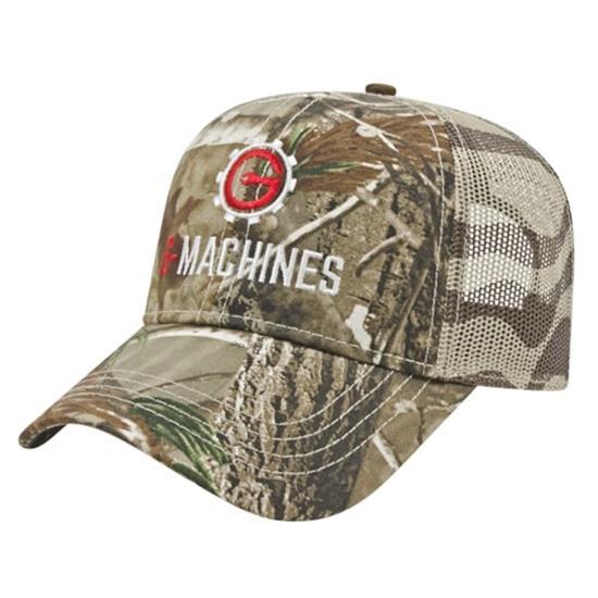 Custom Logo Men's Flag Mesh Back Cap