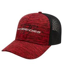 Custom Logo Men's One-Size Stretch-Fit Mesh Back Cap