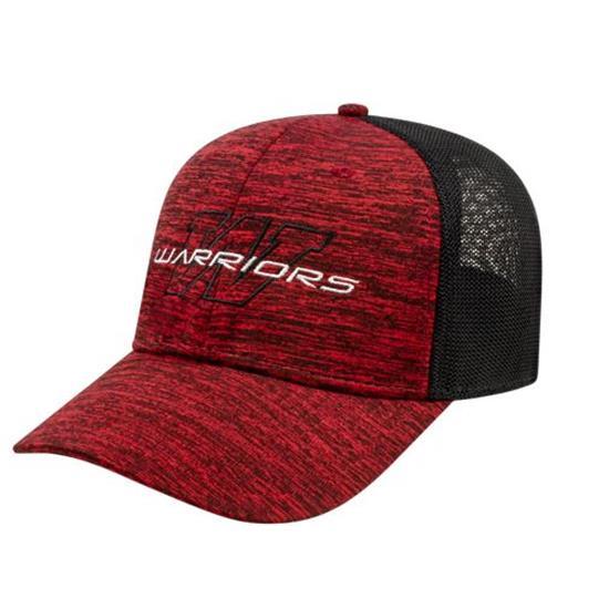 Custom Logo Men's One-Size Stretch-Fit Mesh Back Cap