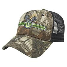 Custom Logo Custom Logo Solid Color Mesh Back Next G2™ Camo Cap