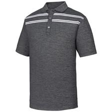 FootJoy Men's Birdseye Space Dye Jacquard w/ Double Chest Stripe