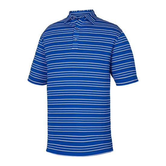 FootJoy Men's Prev. Season Lisle Outlined Stripe Polo