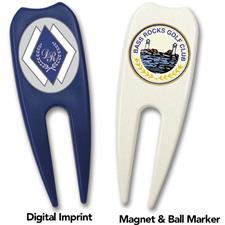 Logo Golf Plastic Divot Tool
