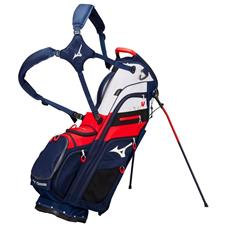Mizuno BR-D4 14 Way Stand Bag - Navy-Red