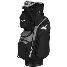 Mizuno BR-D4C Cart Bag - Black-Charcoal