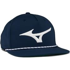 Mizuno Men's Runbird Rope Personalized Hat - Navy-White