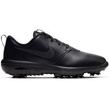 Nike Black-Black-Metallic Silver Roshe G Tour Golf Shoe for Women