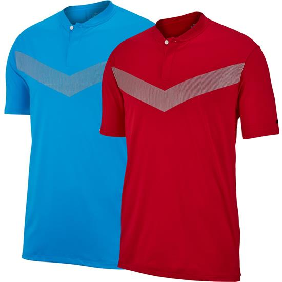 Nike Men's TW Dri-Fit Vapor Reflective Bold Polo